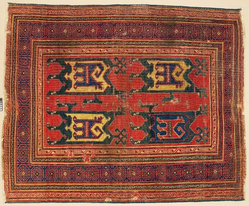 Met Museum Animal Rug Nazmiyal