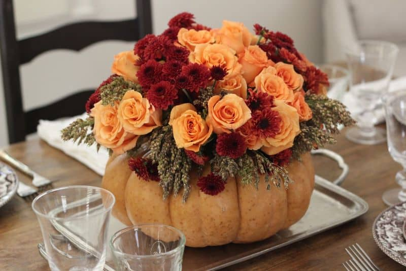 Fall Decoration Centerpiece Nazmiyal