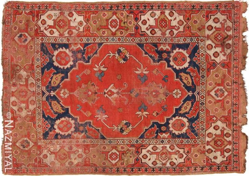 Antique 17th Century Transylvanian Rug Nazmiyal