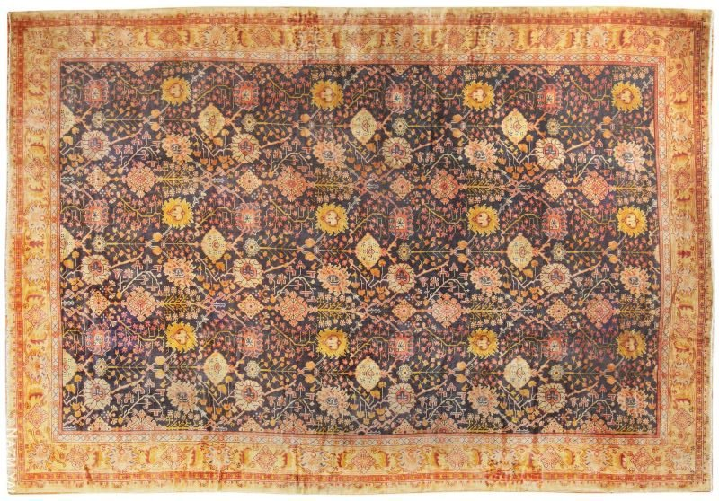 Antique Irish Arts and Crafts Rug Nazmiyal