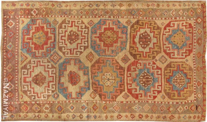 Antique Konya Turkish Rug Nazmiyal