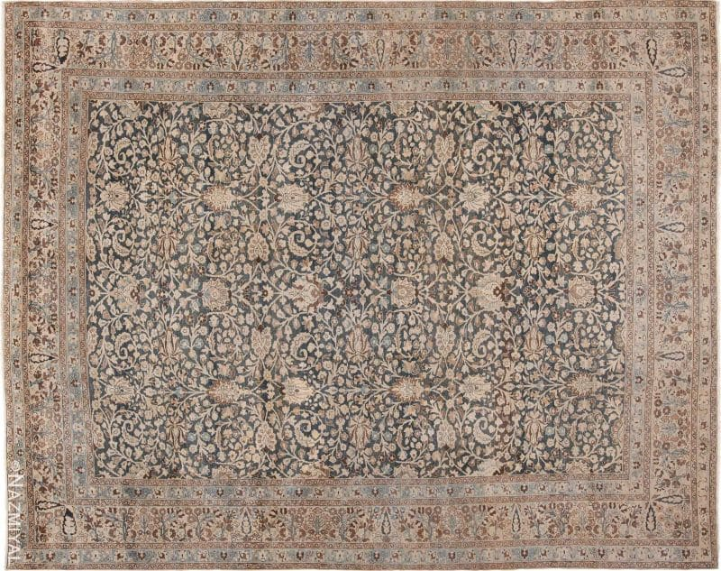 Antique Room Size Persian Khorassan Rug Nazmiyal