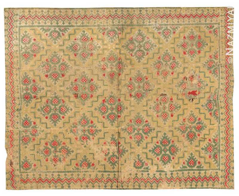 Antique Alpujarra Rug Nazmiyal