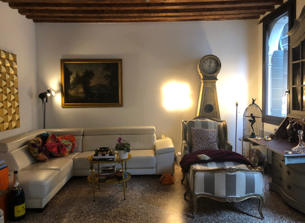 Toma Clark Haines living room in Venice