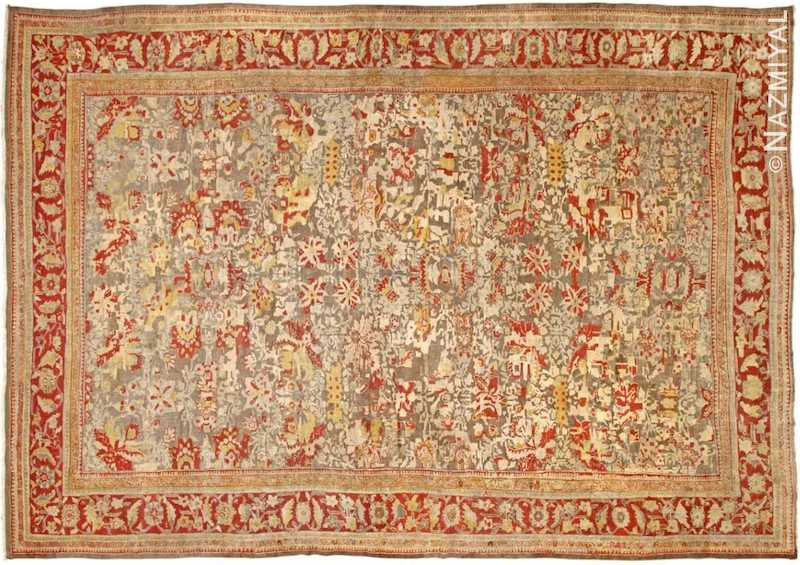 Antique Sultanabad Rug Nazmiyal