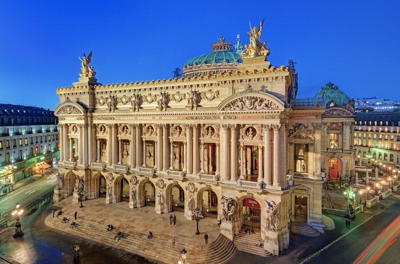 Palais Garnier Beaux Arts Architecture Nazmiyal