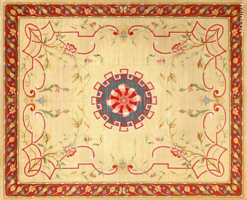 Antique French Rug Nazmiyal